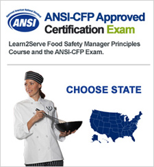 Food Manager ANSI Exam - Click for State Map